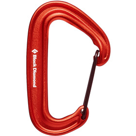 Black Diamond Miniwire Mosquetón, red
